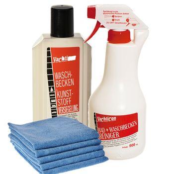 Yachticon Kunststoff Reiniger Set für Bad, Waschbecken & Duschen – Bild 1