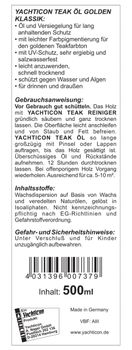 Yachticon Teakholz Reiniger Set - Super Reiniger Brightner Entgrauer Teaköl – Bild 7