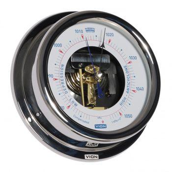 VION Edelstahl Hi-Sensitiv-Barometer A130 BO – Bild 1