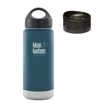 Klean Kanteen Wide Insulated Thermosflasche mit Loop Cap & Kaffee Cap – Bild 4