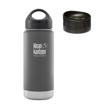 Klean Kanteen Wide Insulated Thermosflasche mit Loop Cap & Kaffee Cap – Bild 6