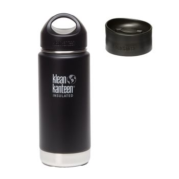 Klean Kanteen Wide Insulated Thermosflasche mit Loop Cap & Kaffee Cap – Bild 9