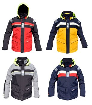 crazy4sailing Bergen Offshore Jacket – Bild 1
