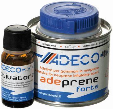 Adeco Adeprene forte 2-Komponenten-Kleber für Schlauchboote Neopren