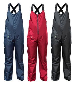 crazy4sailing Women's Men's Salopette Coastal Rain Pants Dungarees – Bild 1