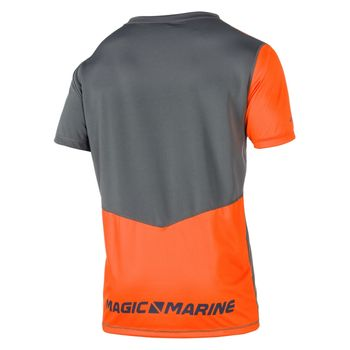 Magic Marine Herren Funktionsshirt Cube Quickdry S/S Sportshirt  – Bild 3