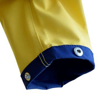 MADSea Damen Friesennerz Regenjacke - gelb/ blau – Bild 3