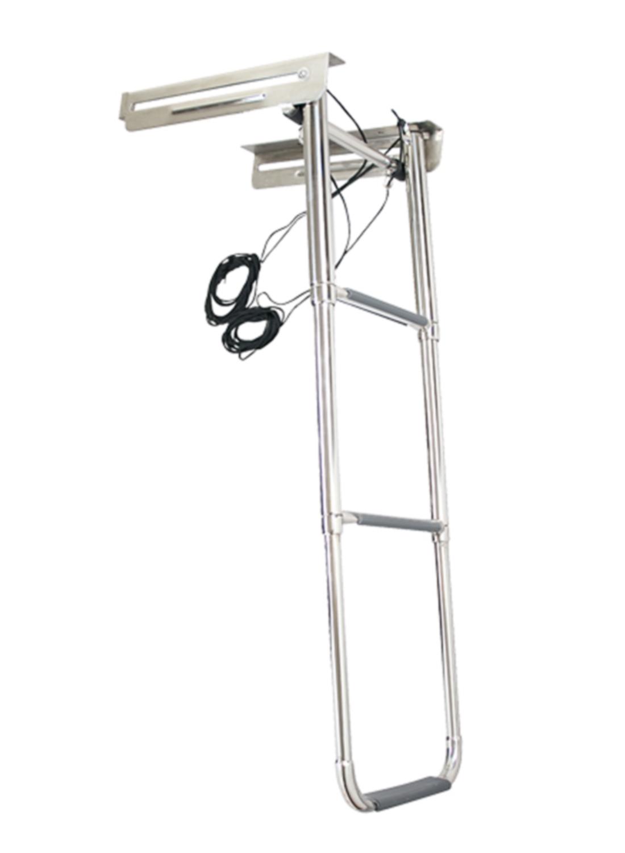 Batsystem Bootsleiter 3 Stufen teleskopierbar mit Kassette BA-BKR93