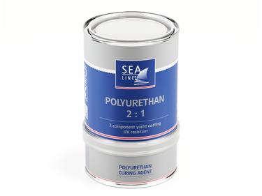 Sea-Line 2K Polyurethan Bootslack  5,1 Liter Weiß