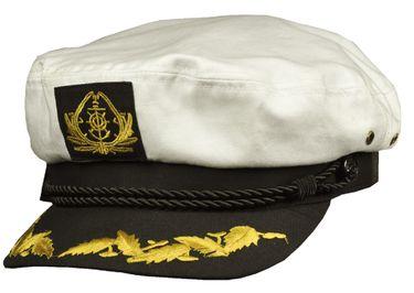 Balke Kapitänsmütze mit goldener Stickerei