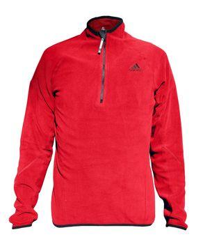 Adidas Herren Microfleeceshirt 1/2 Zip Men winddicht – Bild 4