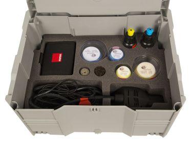 Rupes HR81M/BLX iBrid Nano Poliermaschine Kurzhals 8cm Deluxe Kit – Bild 3
