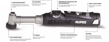 Rupes HR81M/DLX iBrid Nano Poliermaschine Kurzhals 8cm Deluxe Kit – Bild 3