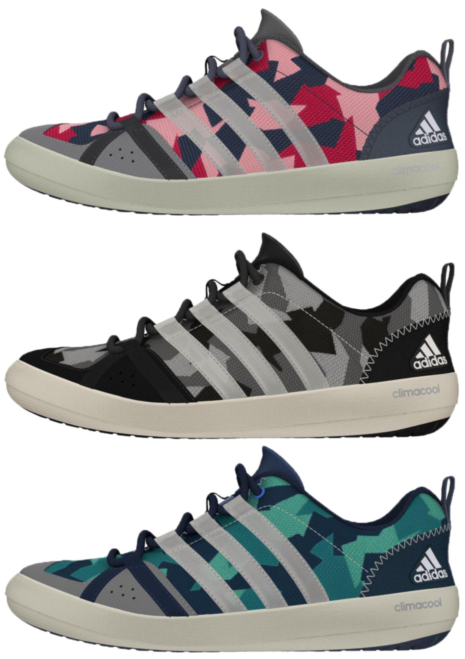 rote adidas schuhe, Damen&Herren Adidas Climacool Boat Lace