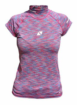 Magic Marine Damen Funktionsshirt Cube Rash Vest S/S – Bild 1