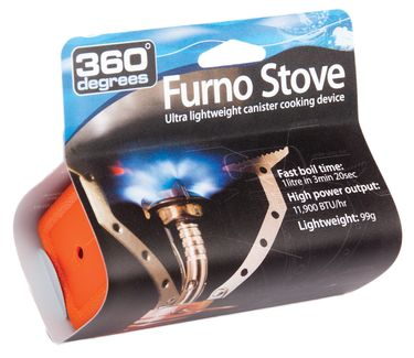 360° degrees Camping Gaskocher Furno Stove – Bild 1