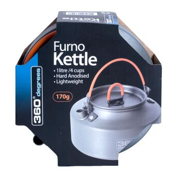 360° degrees Wasserkocher Furno 1l Kettle – Bild 1