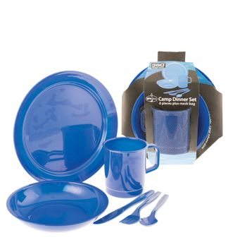 360° degrees Campinggeschirr Camp Dinner Set