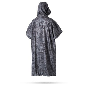 Mystic Polyester Allover Poncho Badehandtuch mit Muster – Bild 4