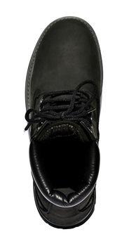 MADSea Damen Herren Leder Schnürstiefel Street Classic Boots schwarz – Bild 7