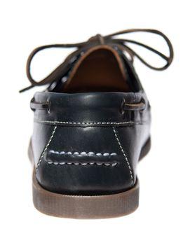 MADSea Herren Leder Bootsschuhe All Summer Deckschuhe dunkelblau – Bild 7