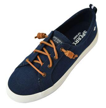 Sperry Damen Sneaker Linen Bootsschuhe Crest Vibe Deckschuhe Segelschuhe – Bild 2