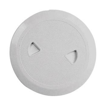 Nuova Rade Inspektionsluke rund, Ø108mm, UV-beständig, grau – Bild 1