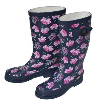 get cheap cc15c 88f75 Regenliebe: Gummistiefel Sea of Flowers