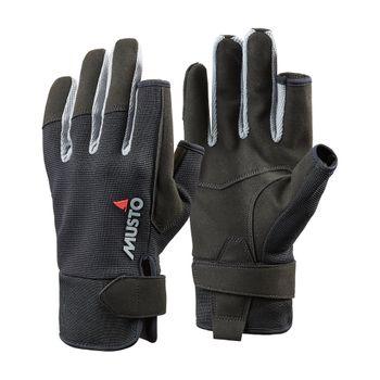 Musto Damen Herren Segelhandschuhe Essential LF Sailing Gloves  - 2 Finger frei – Bild 1