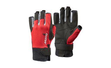 Musto Damen Herren Segelhandschuhe Essential SF Sailing Gloves - 5 Finger frei – Bild 2