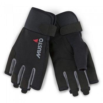 Musto Damen Herren Segelhandschuhe Essential SF Sailing Gloves - 5 Finger frei – Bild 1