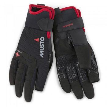 Musto Damen Herren Segelhandschuhe Performance LF Sailing Gloves  - 2 Finger frei – Bild 2