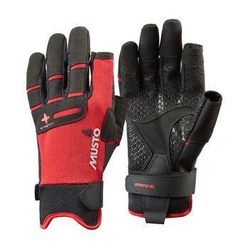 Musto Damen Herren Segelhandschuhe Performance LF Sailing Gloves  - 2 Finger frei – Bild 1
