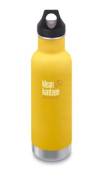 Klean Kanteen Classic Vacuum Insulated mit Loop Cap - 592ml/20oz – Bild 1