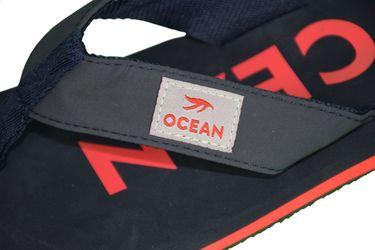 MADSea Damen Herren Zehenstegpantolette Ocean Zehentrenner Sandale dunkelblau rot – Bild 6