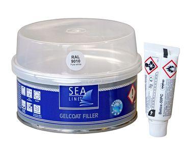 Sea-Line Gelcoat Spachtel schnelltrocknend - styrolfrei 250g – Bild 2