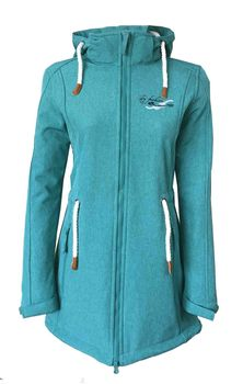 Dry Fashion Damen Softshellmantel Sylt No.2 – Bild 14