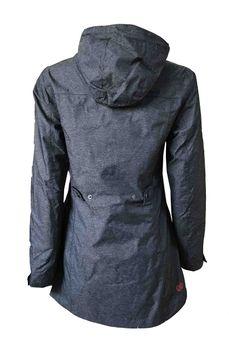 Dry Fashion Damen Funktionsmantel Regenmantel W Langeoog – Bild 7