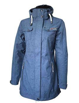 Dry Fashion Damen Funktionsmantel Regenmantel W Langeoog – Bild 5
