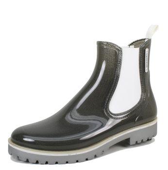 Bockstiegel Damen Gummistiefelette Oxford PVC Regenstiefel – Bild 2