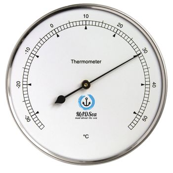 MADSea Edelstahl Thermometer