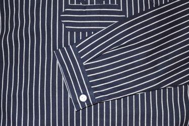 MADSea Damen Herren Finkenwerder Fischerhemd BasicLine breit gestreift  – Bild 4