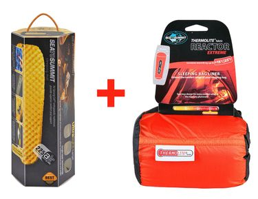 Sea to Summit Schlafmatte & Schlafsack im Set – Bild 1