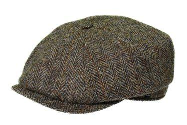 Balke Mütze Harris Tweed Heringbone  – Bild 2