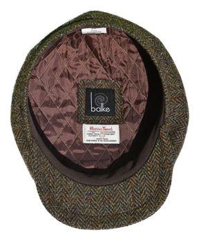 Balke Mütze Harris Tweed Heringbone  – Bild 8