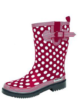 Bockstiegel DORIN Damen - Modische Gummistiefel | 36-42 Rubber Boots | Regenstiefel | Polka Dots | Gepunktet – Bild 5