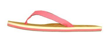MADSea Damen Zehenstegpantolette Tropical Zehentrenner rosa pink – Bild 2