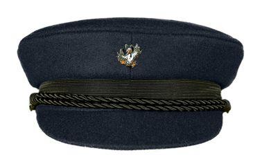 MADSea Elbsegler Premium Tuch Pin Möwe mit Schal dunkelblau – Bild 1