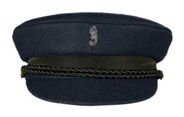 MADSea Elbsegler Premium Tuch Pin Seepferdchen dunkelblau – Bild 1