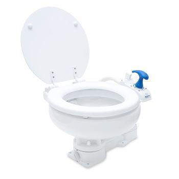 Albin Pump Marine Toilette manuell Compact Low WC Boot – Bild 3